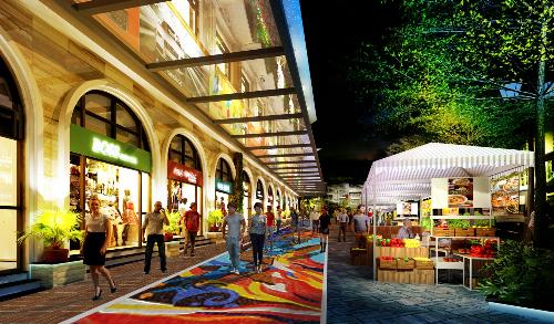 Lào Cai có tổ hợp thương mại du lịch, giải trí