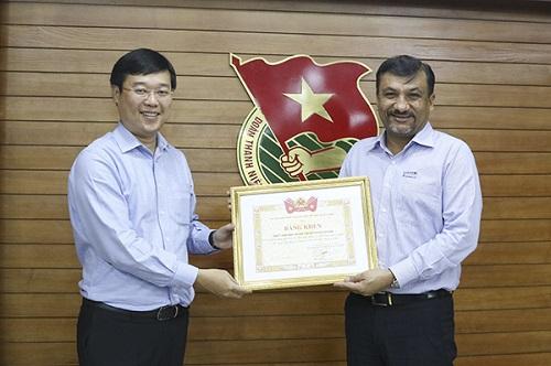Suntory PepsiCo Việt Nam giảm 70% lượng nước sử dụng sau 10 năm