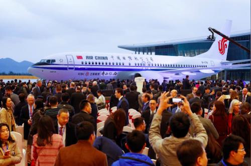 Boeing mở nhà máy tại Trung Quốc bất chấp chiến tranh thương mại leo thang