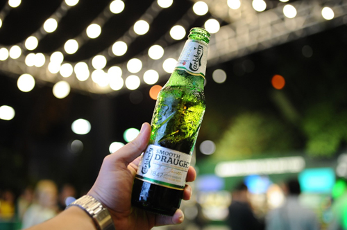 Carlsberg ra mắt dòng sản phẩm mang hương vị bia tươi