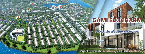Phối cảnh dự án Gami EcoCharm. Chi tiết tiến độ dự án liên hệ: http://gamiecocharm.vn/.