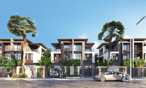 Dự án nghỉ dưỡng Goldsand Hill Villa gấp rút tiến độ thi công