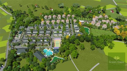 3 lợi thế tại khu biệt thự sinh thái Green Oasis Villas