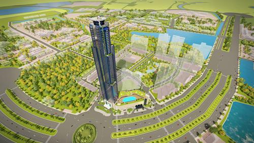 Khách sạn cao cấp là điểm nhấn của Eco Green Saigon.