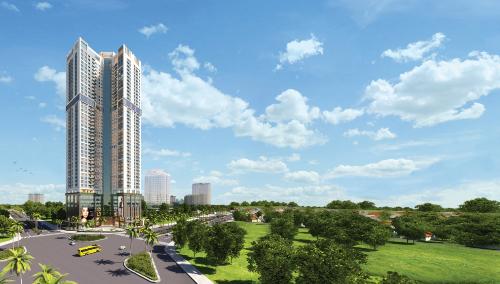 Lợi thế vị trí trung tâm của dự án Golden Park Tower