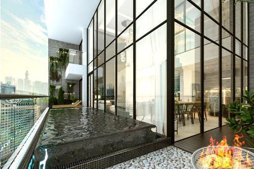 Sunshine Crystal River đáp ứng không gian sống dành cho giới nhà giàu