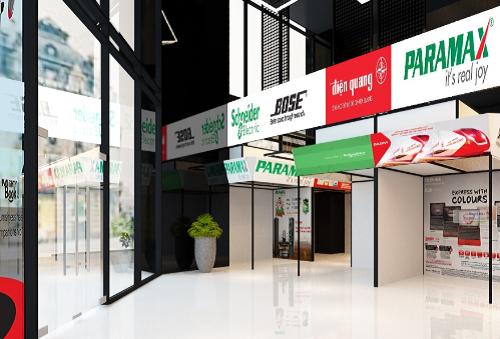 Mặt bằng kinh doanh hàng điện tử tại thương xá Nhật Tảo