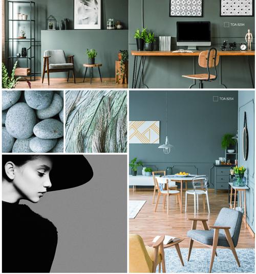 Sơn TOA nhận định xu hướng màu sơn nội thất năm 2019
