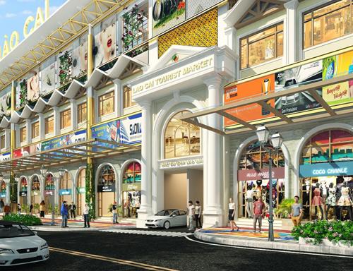 4 lợi thế của tổ hợp Chợ du lịch Lào Cai