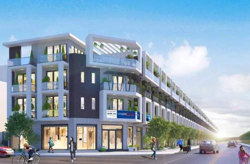 Nhà phố thương mại Palado Vạn An ra mắt thị trường Bắc Ninh