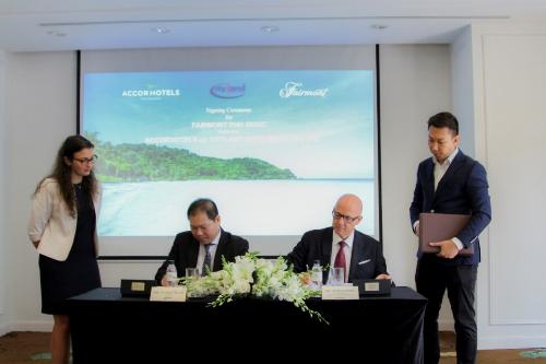Thương hiệu khách sạn năm sao Fairmont lần đầu vào Việt Nam