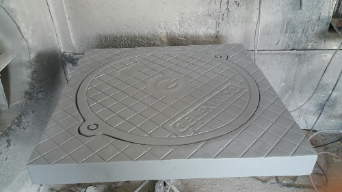 Sản phẩm nắp hố ga composite khung dương