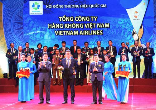 Vietnam Airlines là hãng bay duy nhất đạt thương hiệu quốc gia
