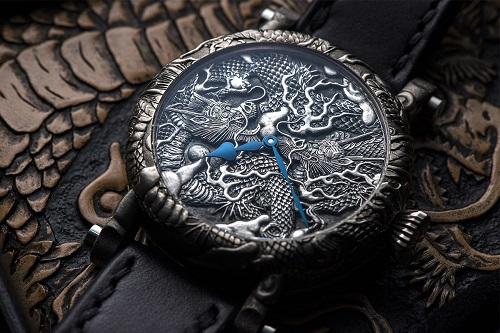 Speake-Marin giới thiệu đồng hồ 'Rồng vàng ôm cầu' phiên bản giới hạn