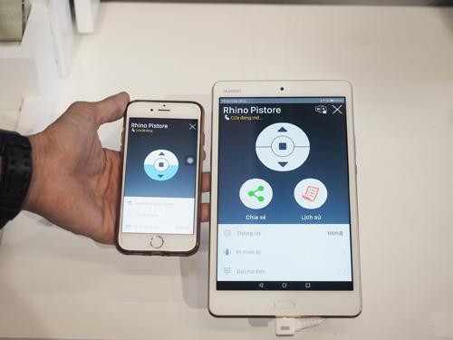 Pitech giới thiệu giải pháp IoT an ninh tại triển lãm Vietbuild