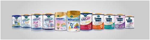 Sản phẩm dinh dưỡng y học của Nutricare đạt Thương hiệu quốc gia