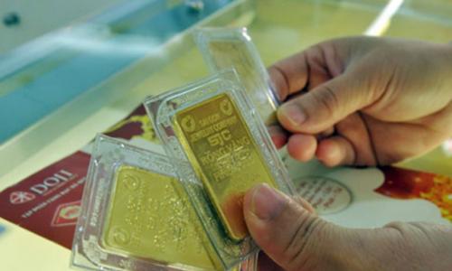 Giá vàng trong nước đi lên
