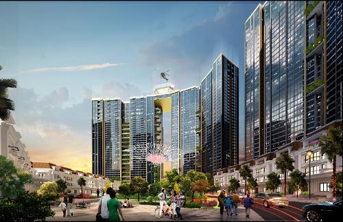 Sunshine City Hà Nội vượt tiến độ, tăng tốc cuối năm