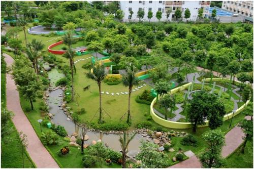 Không gian xanh đậm chất văn hóa cộng đồng tại Hồng Hà Eco City