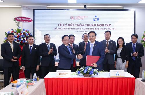Hưng Thịnh Incons hợp tác với Đại học Bách khoa TP HCM