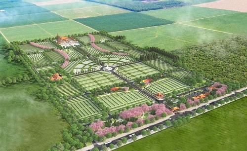 Hoa Viên Bình An - công viên nghĩa trang rộng 100ha tại Đồng Nai