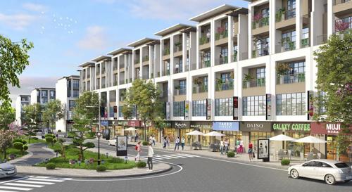 Shophouse tăng giá trị nhờ vị trí đắc địa