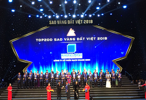 Thương hiệu vật liệu xanh vào Top 200 Sao vàng đất Việt