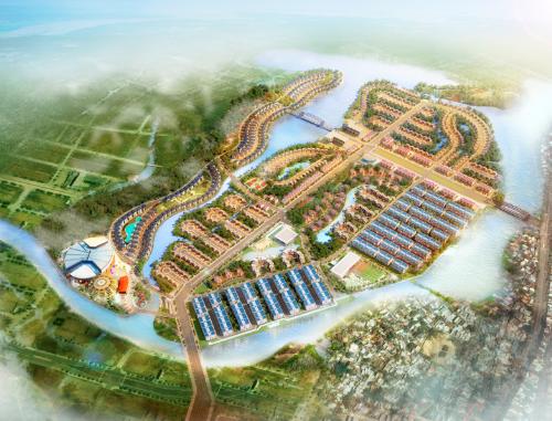 Toàn cảnh dự án Gami EcoCharm  dự án bất động sản nghỉ dưỡng đáp ứng kịp thời nhu cầu cư trú của du khách trong nước và quốc tế đến với 7 bãi biển trọng điểm Đà Nẵng.