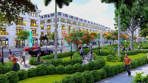 Nhà phố thương mại Đông Dương Green giá đất nền từ 600 triệu đồng