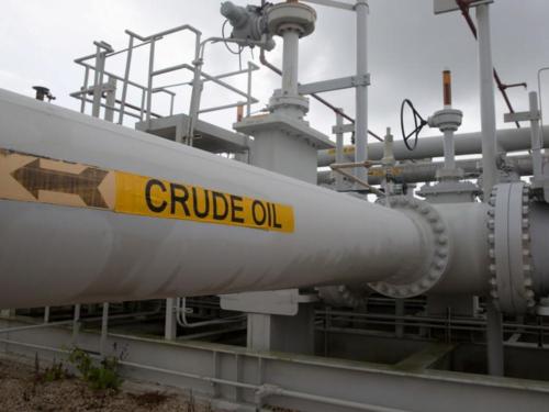 Đường ống dẫn đầu tại Texas (Mỹ). Ảnh: Reuters