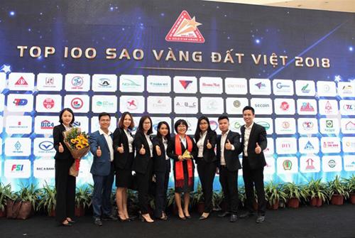 Nội thất Xuân Hòa được vinh danh Top 100 Sao vàng Đất Việt 2018