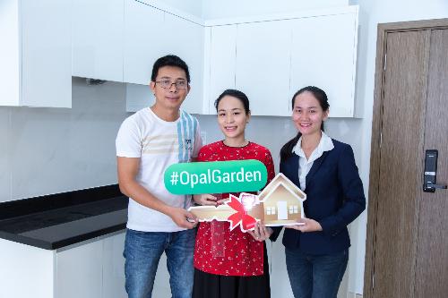 Cư dân Opal Garden nhận nhà đón Tết