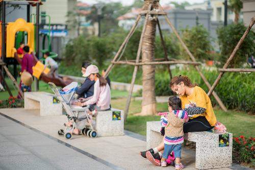 Hệ thống tiện ích như khu nghỉ dưỡng tại TNR Goldmark City