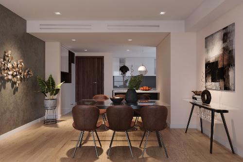 Phong cách thiết kế hiện đại tại dự án cao cấp Rivera Park Hà Nội