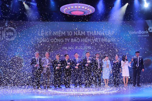 Doanh thu Bảo hiểm VietinBank tăng 56 lần sau 10 năm