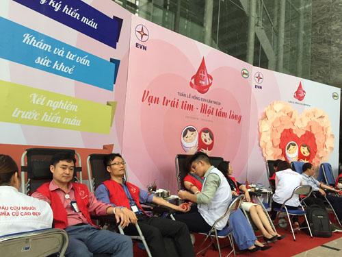 EVN phát động tuần lễ hiến máu cứu người trên toàn quốc