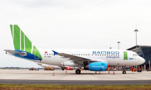 Máy bay đầu tiên của Bamboo Airways về Việt Nam hôm 16/12.