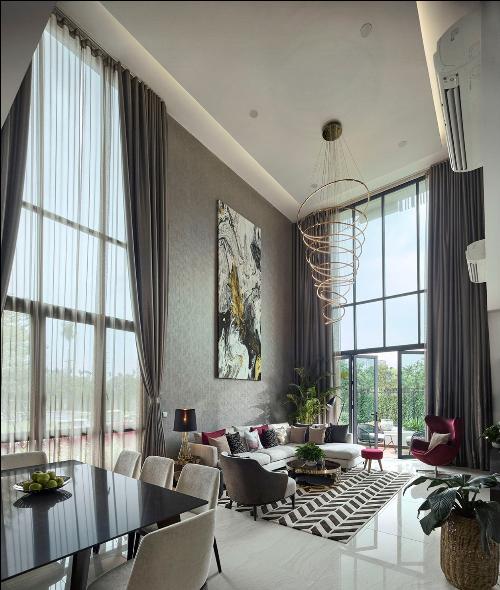 Không gian sống cho gia đình đa thế hệ tại biệt thự The Mansions