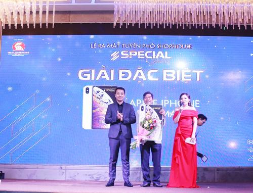 Khu đô thị Kim Long City ra mắt phố thương mại Special Gold