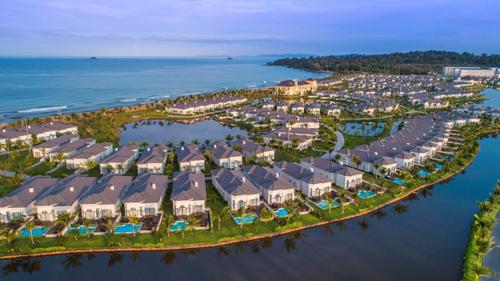 Thị trường bất động sản ven biển đón nhận nguồn vốn đầu tư lớn. Ảnh:<em> Grand World Phú Quốc