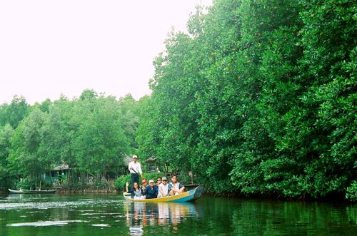 Sông nước Cần Giờ. Ảnh: Yatlat.com.