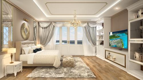 Phong cách kiến trúc bán cổ điển tại biệt thự ven sông Riviera Villas