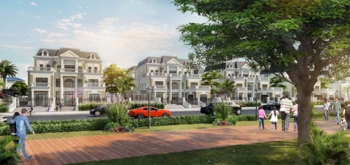 Phong cách kiến trúc bán cổ điển tại biệt thự ven sông Riviera Villas