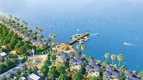 Shop villas đáp ứng nhu cầu đầu tư thương mại du lịch tại Hà Tiên