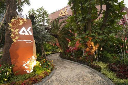 The Sense by Alpha King là khu vực trưng bày và giới thiệu các căn hộ mẫu của dự án Centennial và Alpha Hill