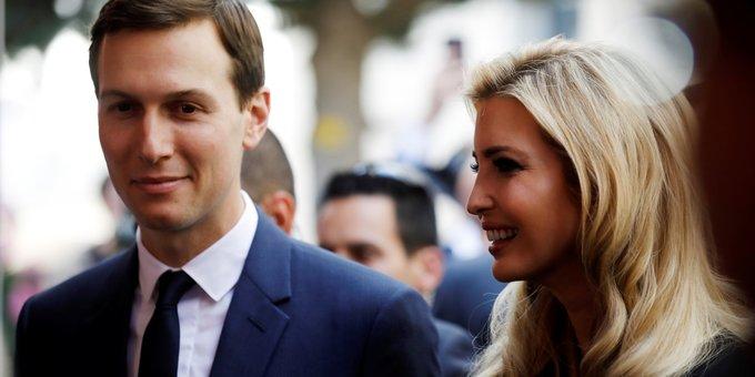 Một số nguồn tin ước tính tổng tài sản của vợ chồng con gái Tổng thống Donald Trump khoảng 1,1 tỷ USD. Dù giữ vị trí cố vấn không lương của Nhà Trắng, vợ chồng Ivanka Trump vẫn kiếm được 83 triệu USD trong năm 2017. Ảnh: Reuters