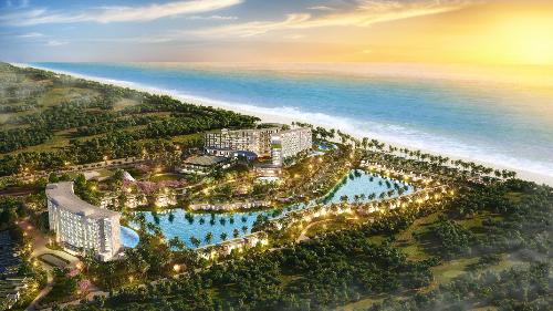 Mövenpick Resort Waverly Phú Quốc được xây dựng trên diện tích 52ha tại bãi Ông Lang  một trong những bãi biển đẹp nhất Phú Quốc