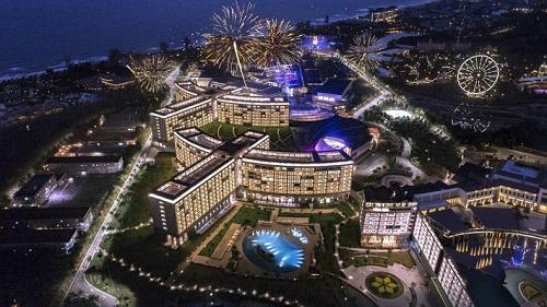 Corona Resort & Casino Phú Quốctại bãi Dài, Phú Quốc.