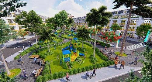 Lợi thế cạnh tranh của nhà phố Đông Dương Green - 1