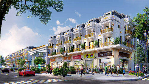 Lợi thế cạnh tranh của nhà phố Đông Dương Green